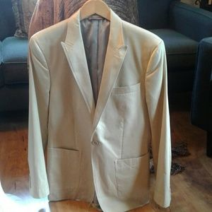 Perry Ellis cotton blazer, never worn